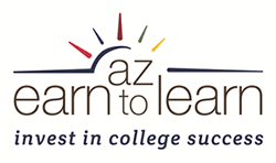 Az earn to learn logo