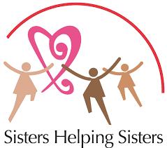 Sisters helping sisters logo